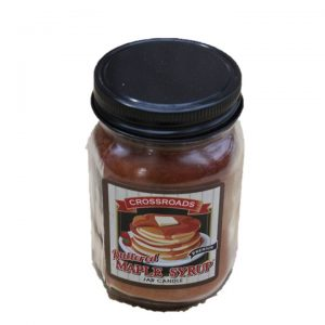 Crossroads Candle Jar Buttered Maple -12 oz