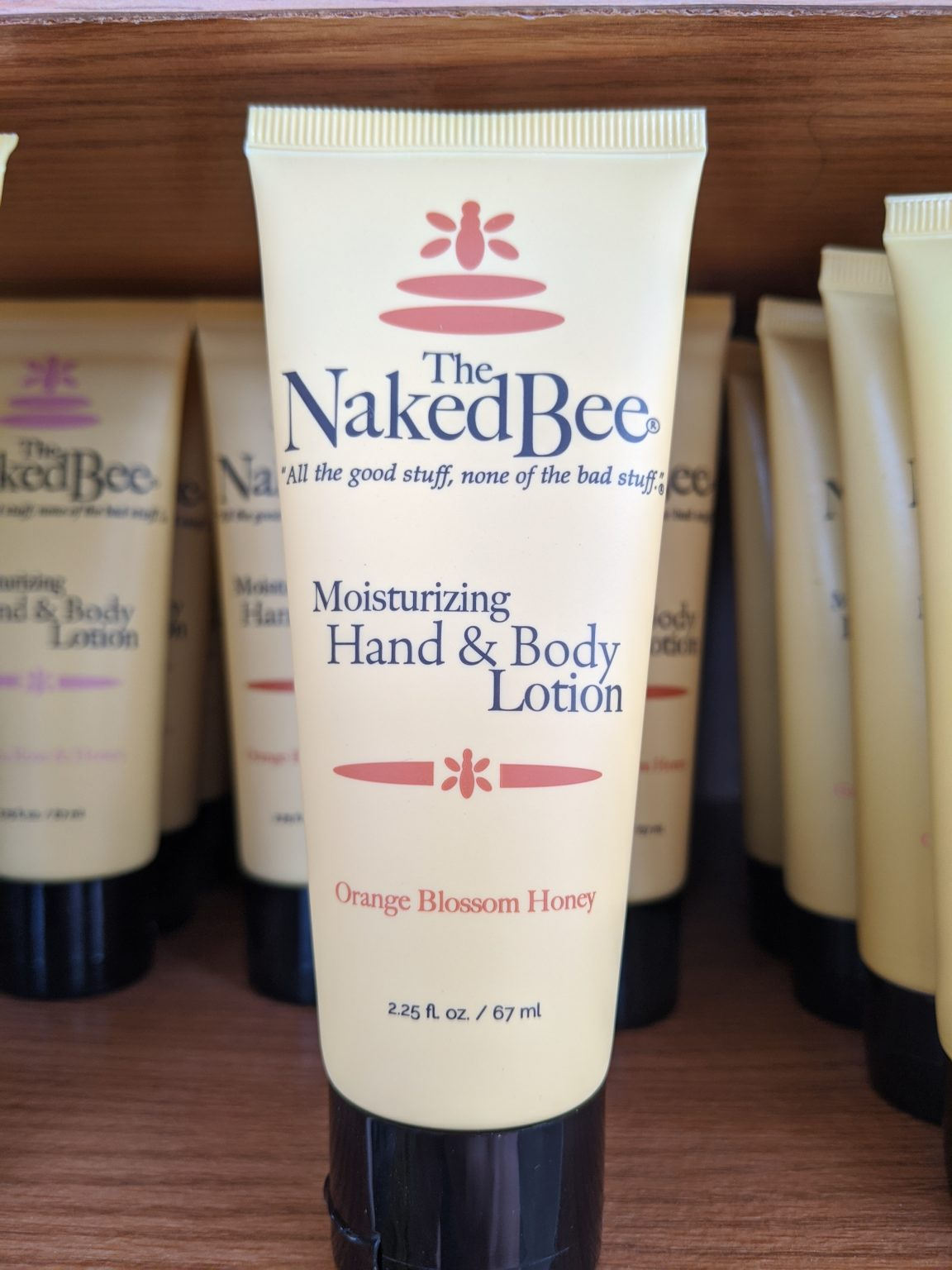 Naked Bee Lotion Coconut & Honey - 2.25 oz - Wilsons