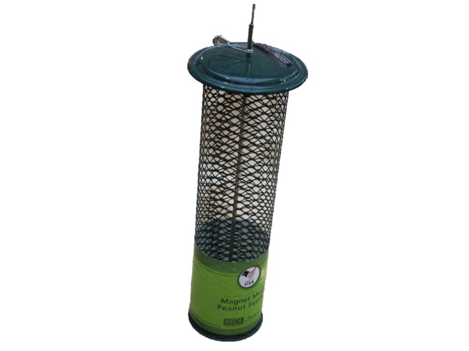 BY Bird Feeder Magnet Peanut Mesh