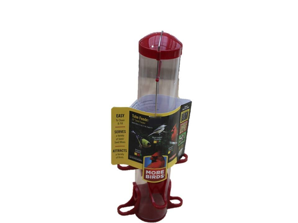 Classic Bird Feeder Tube - 15 Inch
