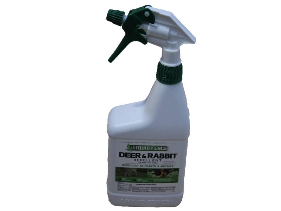 Liquid Fence Deer & Rabbit Repellent RTU - 32 Ounce