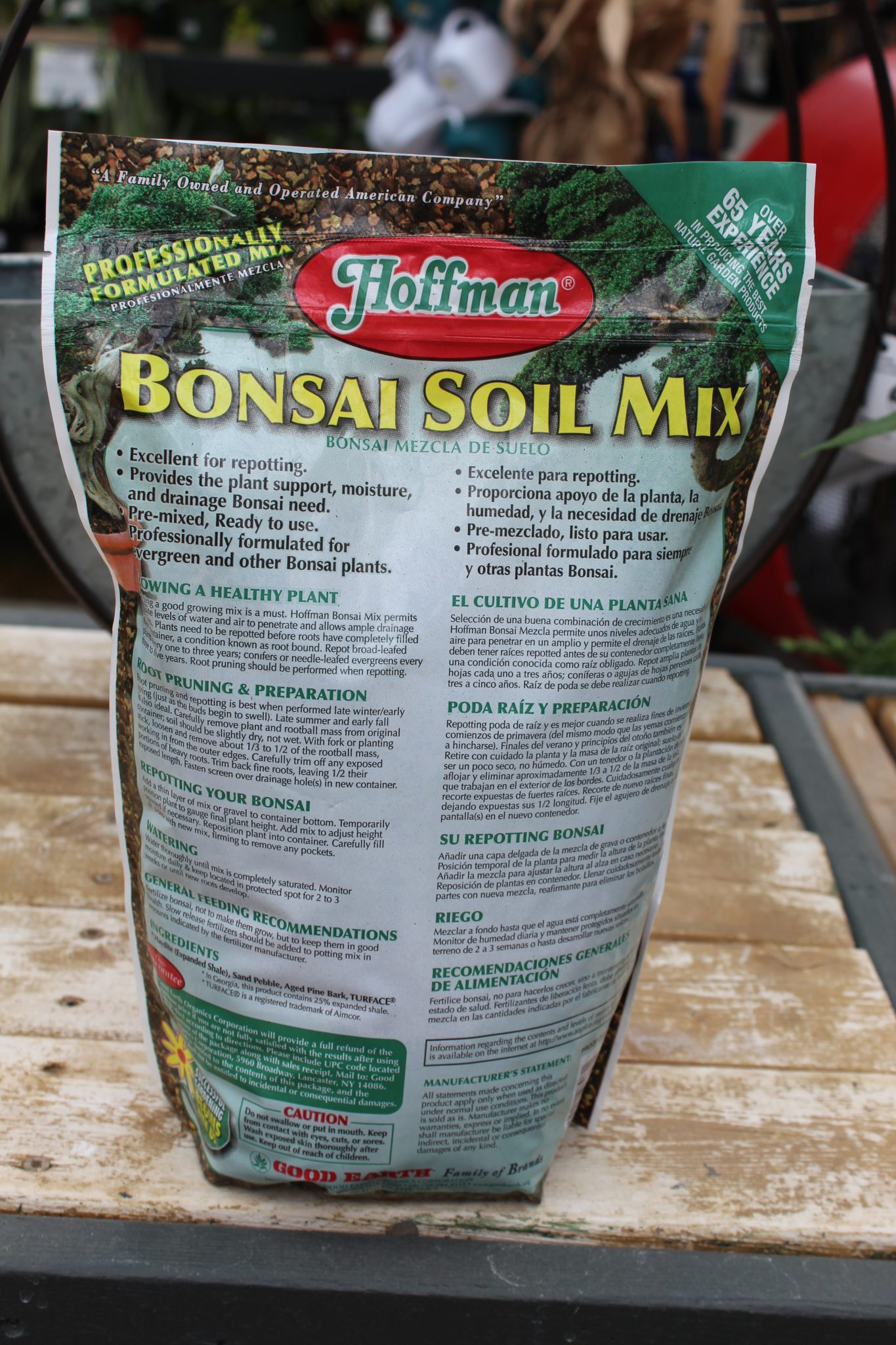 Hoffman Bonsai Soil Mix 2 Quart Wilson S Garden Center