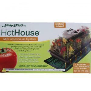 Hydrofarm Hot House With Heat Mat