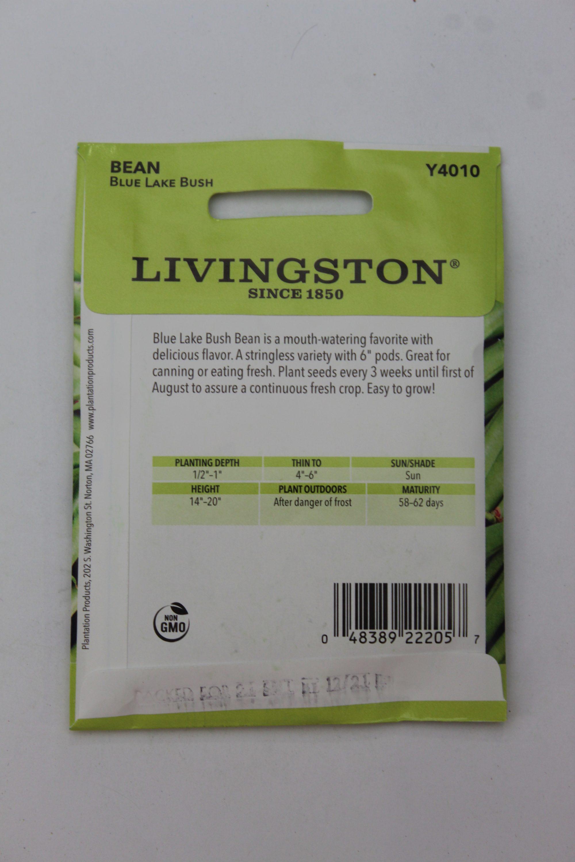 Livingston Bean Blue Lake Bush
