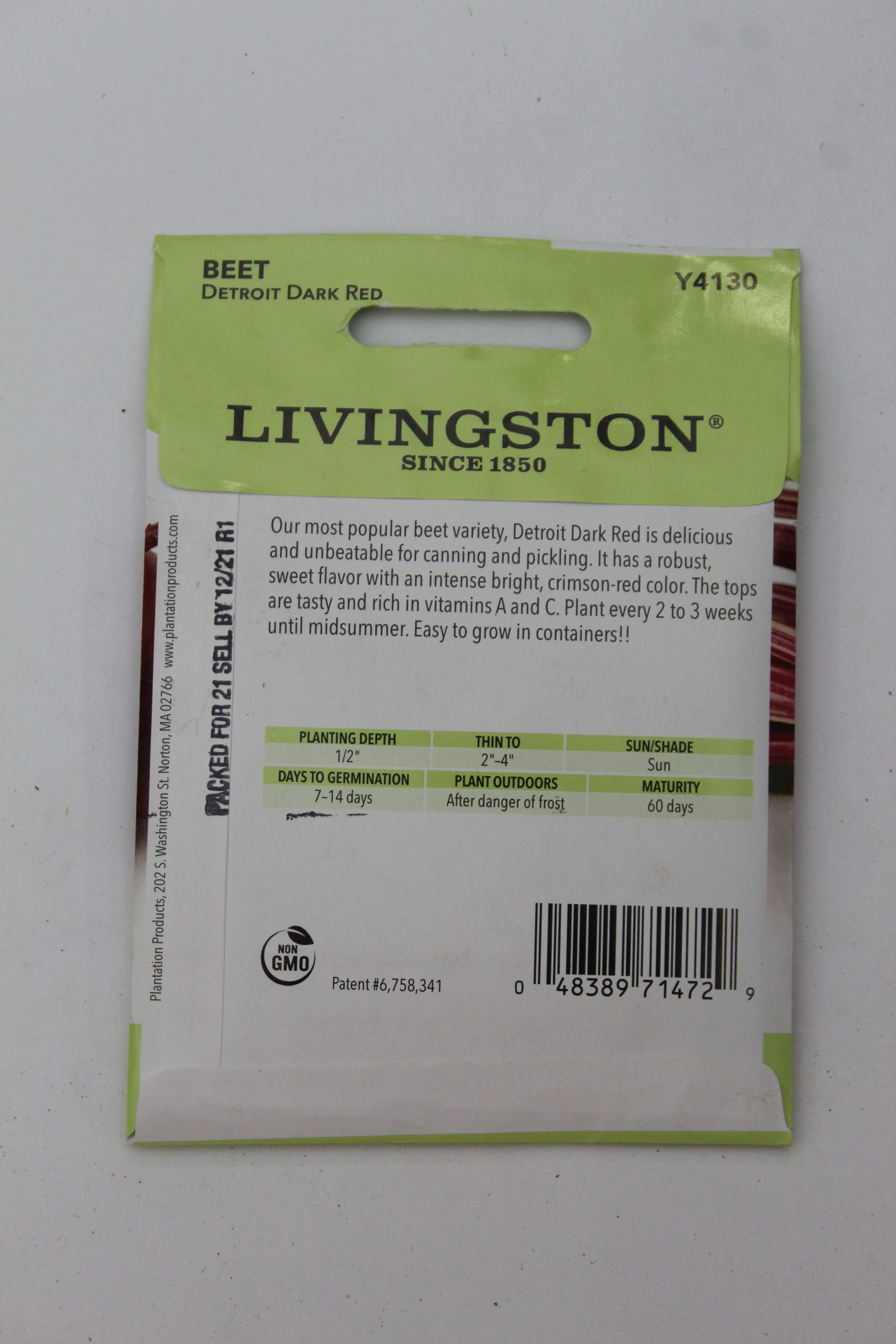 Livingston Beet Detroit Dark Red