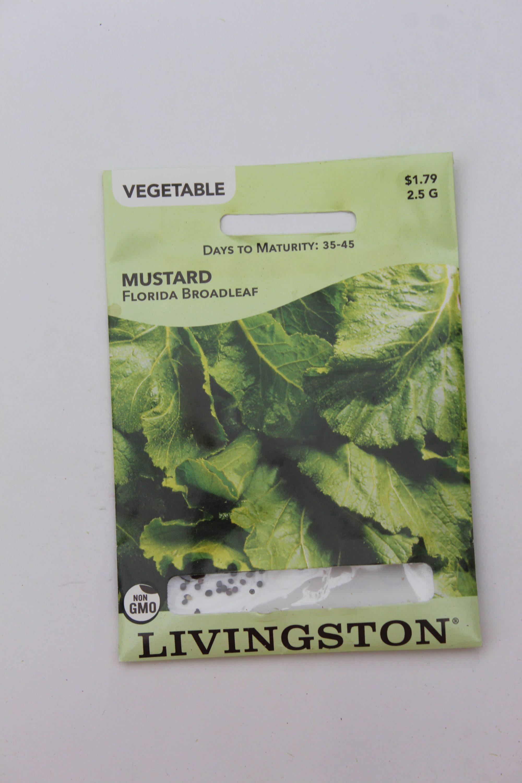 Livingston Mustard Florida Broadleaf