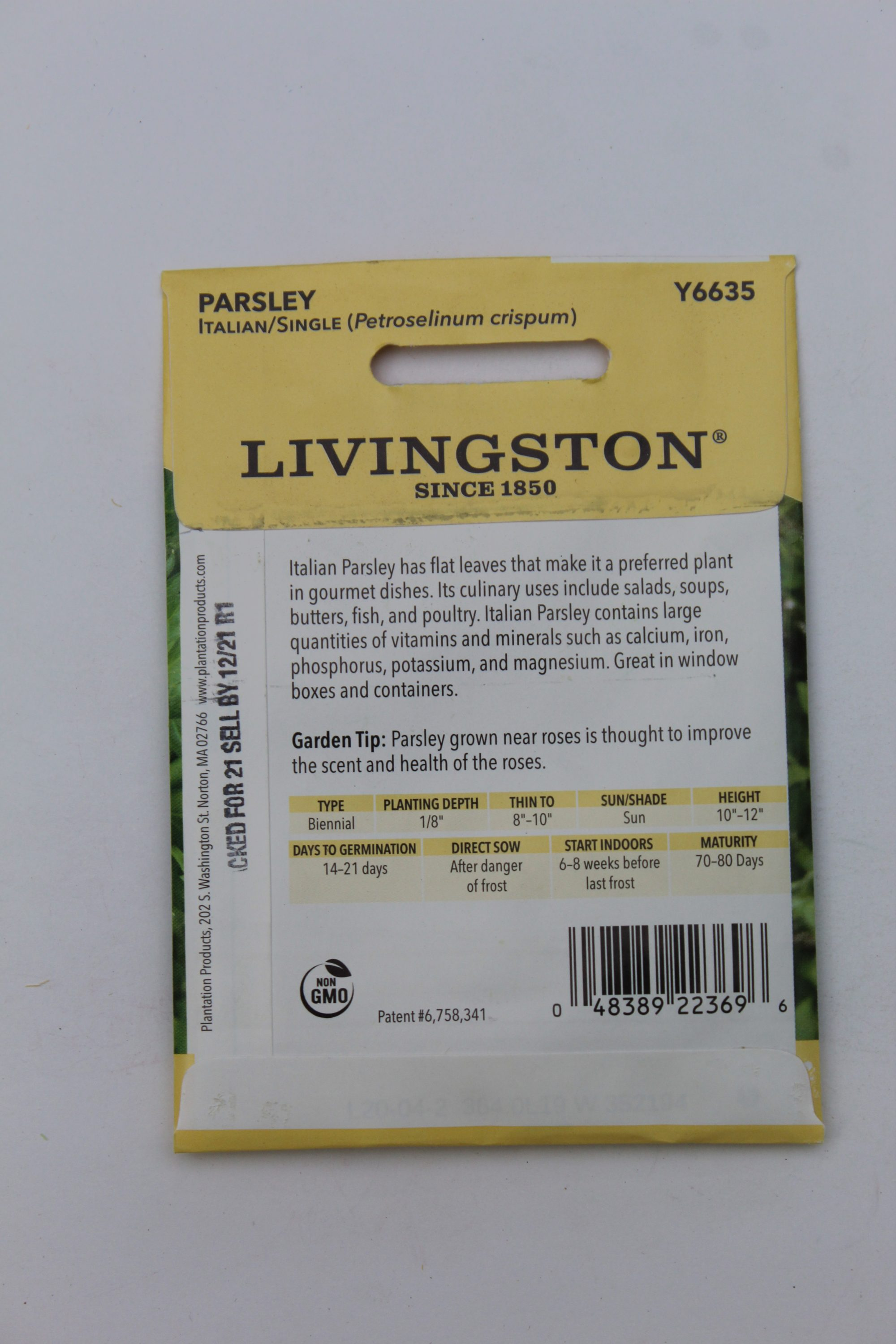 Livingston Parsley Italian Single