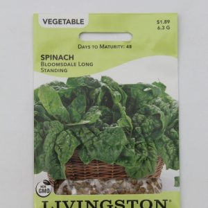 Livingston Spinach Bloomsdale Long Standing
