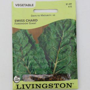 Livingston Swiss Chard Fordhook Giant