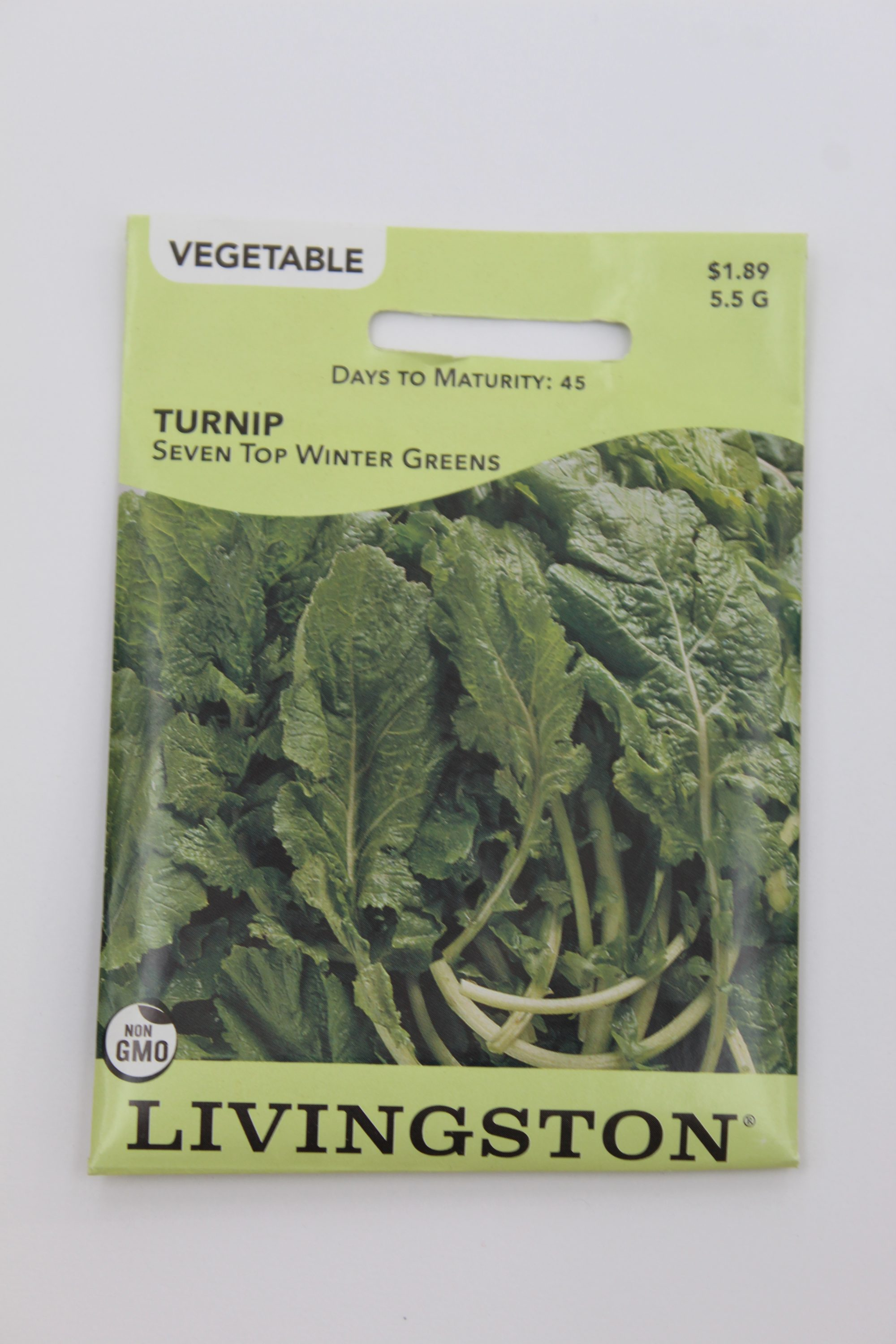 Livingston Turnip Seven Top Winter Greens