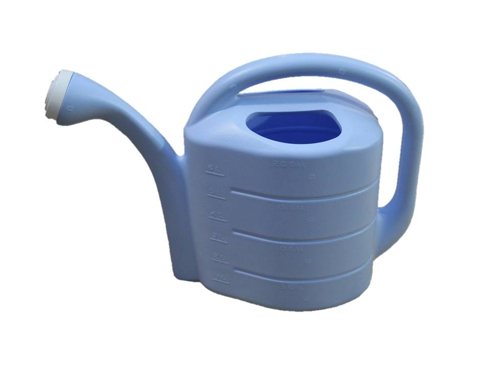 Novelty Watering Can Sky Blue