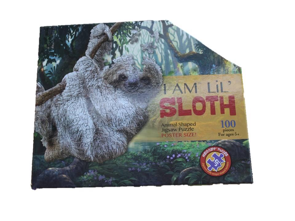 MC Puzzle I Am Lil Sloth