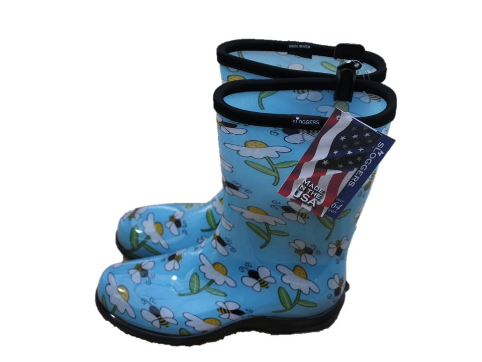 Sloggers Garden Boot Bee Blue