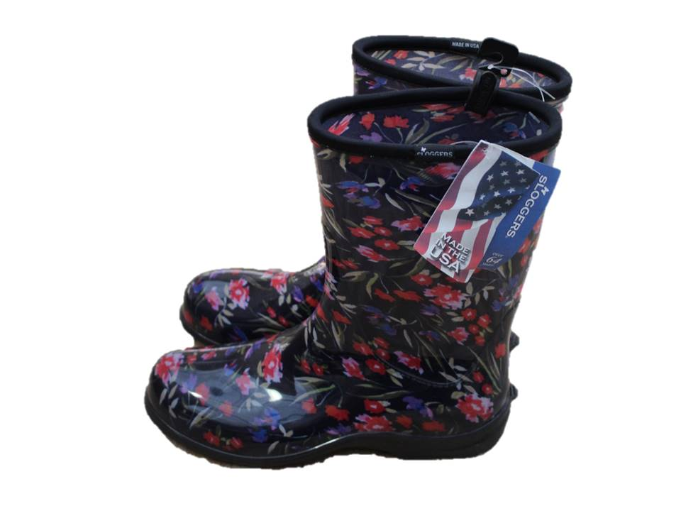 Sloggers Garden Boot Fresh Cut Navy