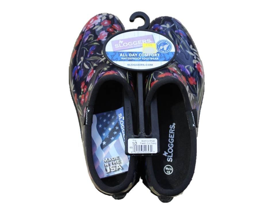 Sloggers Garden Shoe Fresh Cut Navy - Size 10