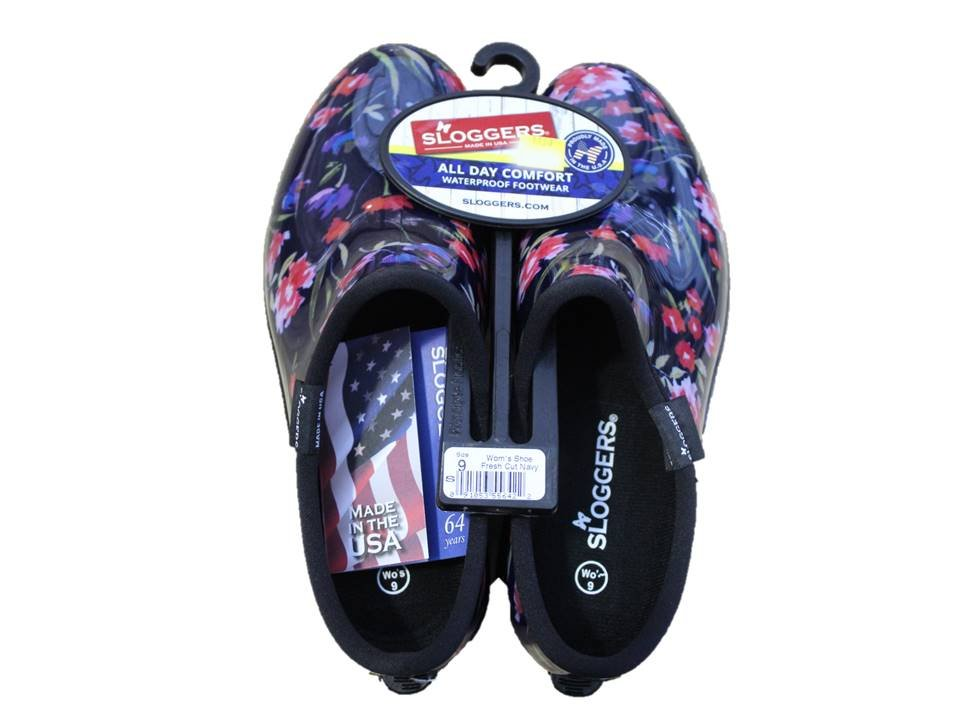 Sloggers Garden Shoe Fresh Cut Navy - Size 9