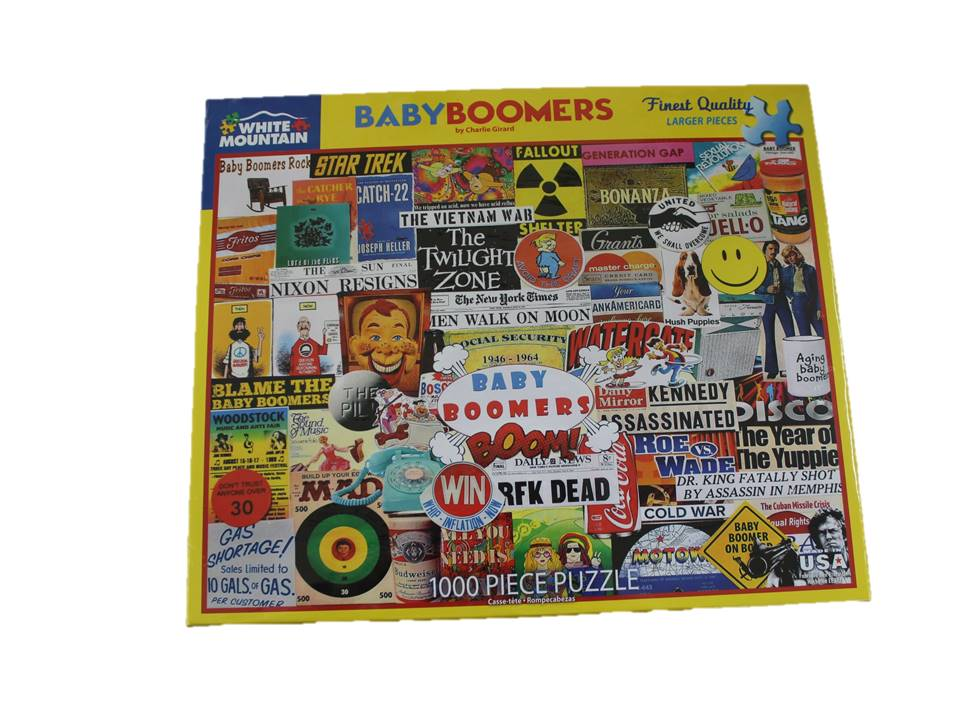 WMP Puzzle Baby Boomers -1,000 Piece