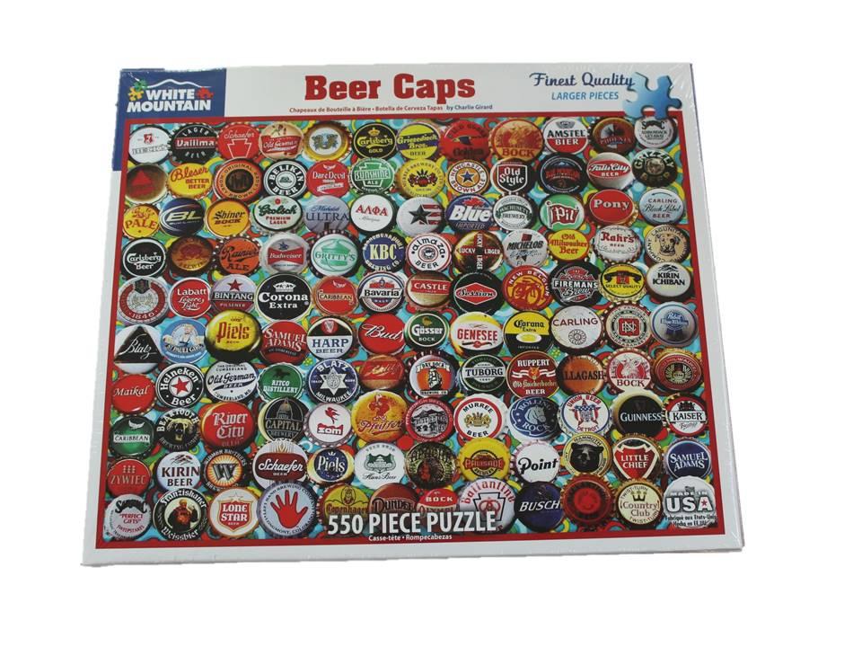 WMP Puzzle Beer Caps