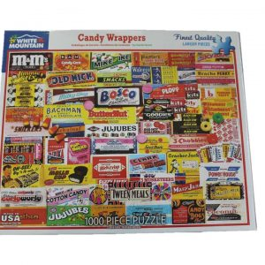 WMP Puzzle Candy Wrappers