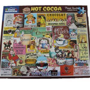 WMP Puzzle Hot Cocoa - 1,000 Piece