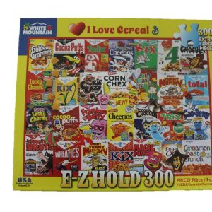 WMP Puzzle I Love Cereal - 300 Piece