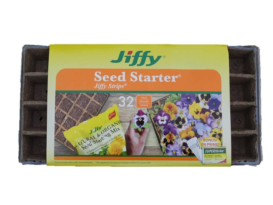 Jiffy Greenhouse Strip N' Tray 32 Cell