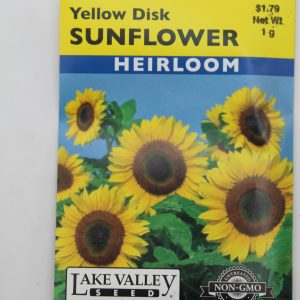 Lake Valley Sunflower Yellow Disk
