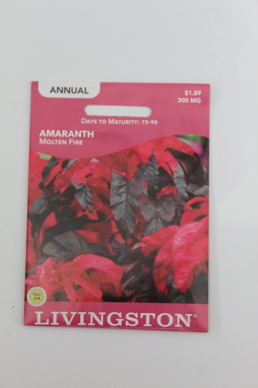 Livingston Amaranth Molten Fire