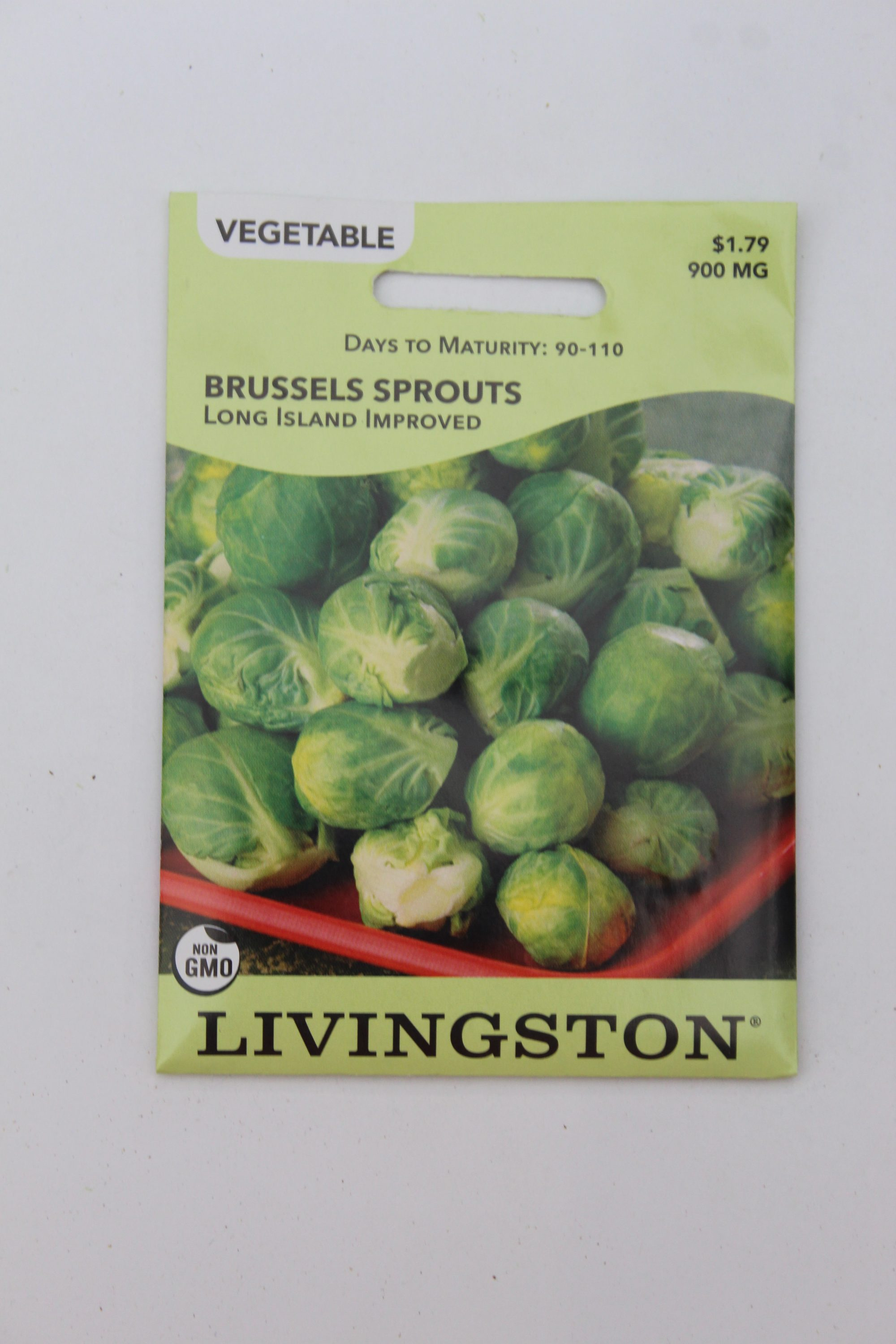 Livingston Brussel Sprouts Long Island Improved