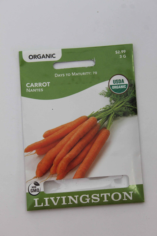 Livingston Organic Carrot Nantes