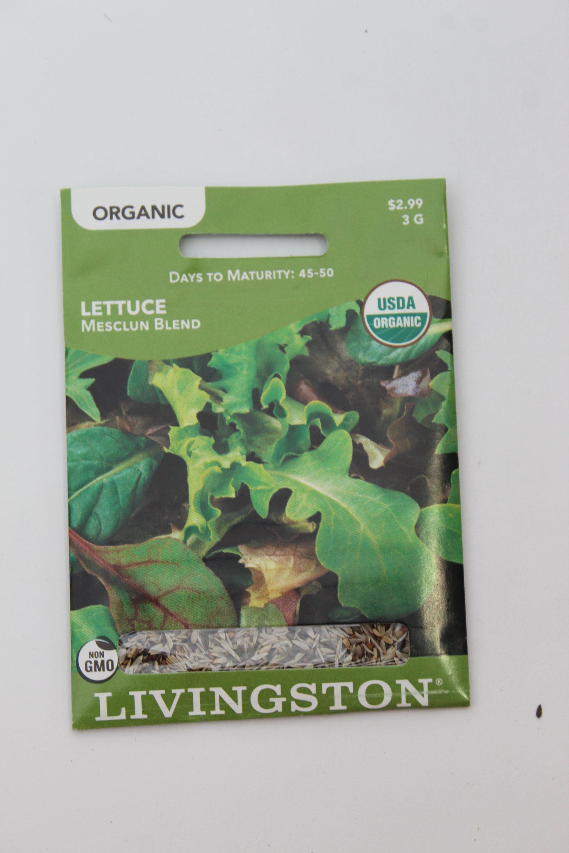 Livingston Organic Lettuce Mesclun Blend