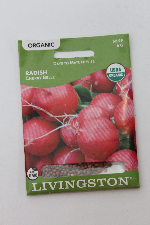 Livingston Organic Radish Cherry Belle