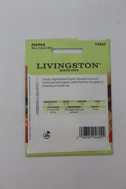 Livingston Pepper Bell Color Mix