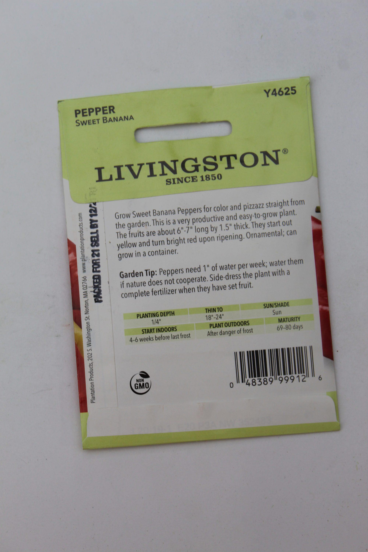 Livingston Pepper Sweet Banana