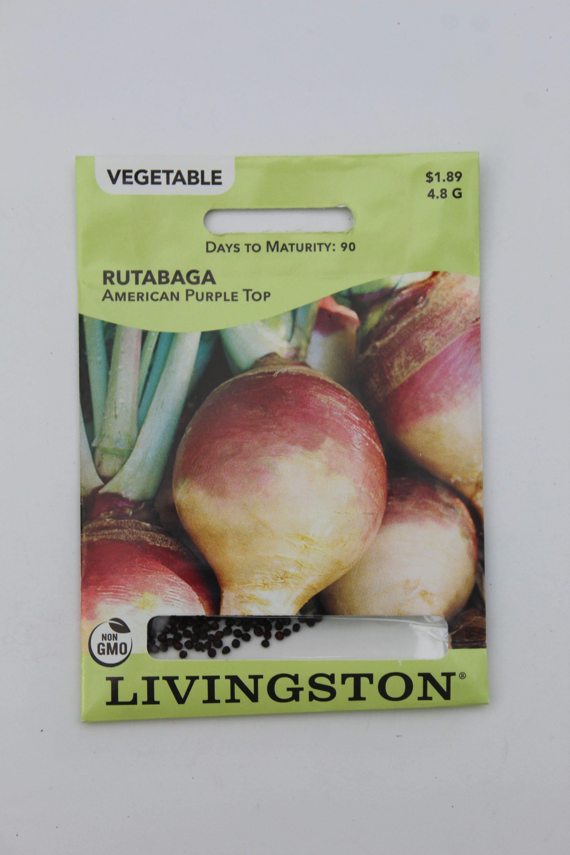 Livingston Rutabaga American Purple Top