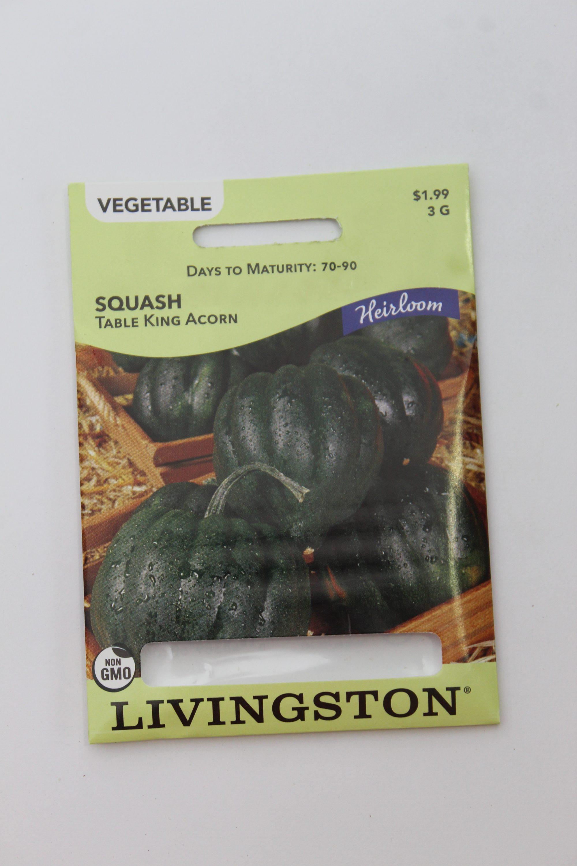 Livingston Squash Table King Acorn