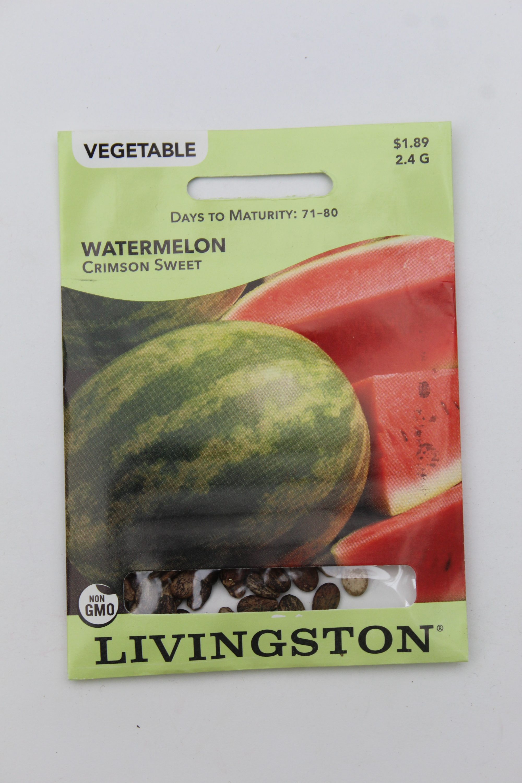 Livingston Watermelon Crimson Sweet